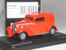 Klasse: Minichamps American Hot Rod rot in 1:43 in OVP