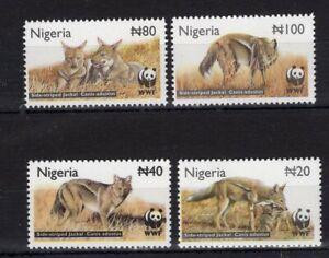 Nigeria - Animals  - WWF - Briefmarken stamps Timbres  MNH** M109