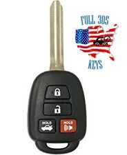 Toyota HYQ12BEL 4 Button Key Fob H-chip