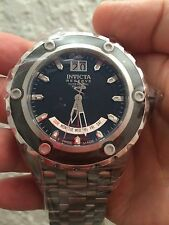 Invicta Reserve Subaqua Specialty Stainless Steel Black Dial Watch #80494 NIB