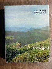 Bernard Craplet AUVERGNE ROMANE Zodiaque 1972 La Nuit des Temps TBE