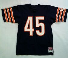 VINTAGE 80's MADE IN USA SAND KNIT CHICAGO BEARS #45 GARY FENCIK JERSEY SIZE M