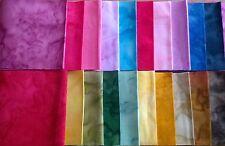 "Klassy Kota Batiks Fabric Jelly Roll Strips - 20 strips 2.5"" x 44"" Set 03"