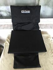 """Drive Medical 20"""" Cushion & Back Cushion Off Drive Cirrus Powered Wheelchair"""