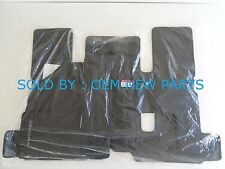 2015-2016 Kia Sedona Floor Mat Set Front & Rear 4 pcs A9F14AC000WK BLACK NEW OEM