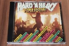 Various - Hard 'N Heavy Super Festival (1989) (CD) (Vertigo ‎– 62 451 0)