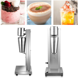 18000RMP Commercial Milk Shake Machine Stainless Steel Double Head Drink Mixer