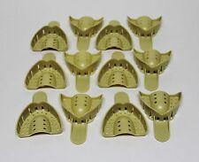 Dental Plastic Disposable Impression Trays Perforated Autoclavable Us 5 12 Pcs