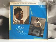 "FITZGERALD & ARMSTRONG ELLA AND LOUIS AGAIN PART 4 EP 7"" G/EX- VERVE EP V-5052"