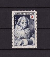 timbre France   croix rouge de 1951    num: 915  oblitéré