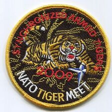 NTM NATO TIGER MEET PATCH COLLECTIONS: Synchronized 2009 Kleine Brogel Belgium