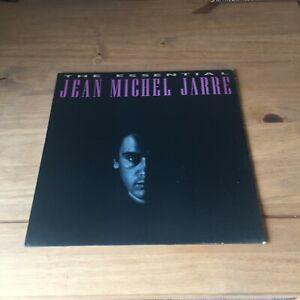 """JEAN MICHEL JARRE  - THE ESSENTIAL (1983 12"""" VINYL ALBUM) POLYDOR PRO LP 3 A2/B2"""