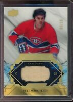 2019-20 UD Upper Deck Engrained Remnants Stick #/100 Pete Mahovolich