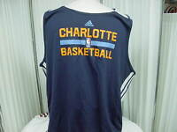 Official NBA Charlotte Bobcats Team Issued Adidas Reversible Practice Jersey