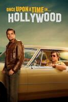 Once Upon a Time in Hollywood Movie Art Silk Poster 24x36inch