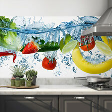 Küchenrückwand selbstklebend Fruits Fliesenspiegel Folie - ALLE UNTERGRÜNDE