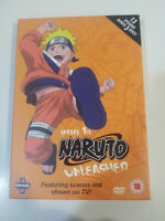 NARUTO UNLEASHED SERIES 1:2 - 13 EPISODES - 3 X DVD ENGLISH JAPANESE 2002
