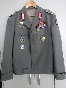 Bundeswehr Uniform Jacke Oberst Lt. Gebirgsdivision Gebirgsjäger EK Orden