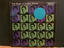 DUDLEY MOORE  The Music Of Dudley Moore   LP  UK  Mono pressing  Lovely copy!