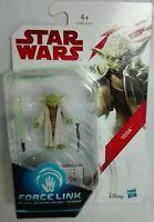 1 Action Yoda Star Wars Force Link 9,4 cm Gli utlimi Jedi Clone