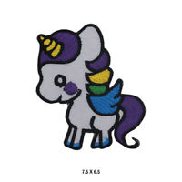 Unicorn Baby Disney Patch Embroidered Patch Iron on Sew On Badge For Clothes