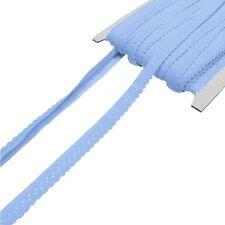 2.80 EUR//Meter royalblau Elastisches Einfassband mit Bogenkante