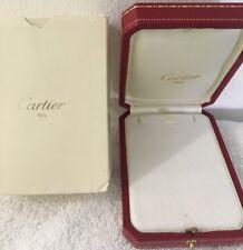Authentic Cartier Necklace Box 4006