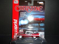 Auto World Plymouth Fury 1958 Christine 1/64 ULTRA RED CHASE