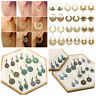 Women Bollywood Earrings Multi-style Tassel Dangle Ethnic Jhumka Jhumki Earrings