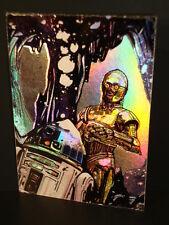 "1996-Star Wars, ""Finest""- ""Foil-Embossed"" - Subset Chase Card - Matrix 2."