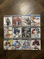 Lot Of 12 Playstation 3 PS3 Sports Games: NFL NCAA NBA MLB NHL FIFA Smoke Free