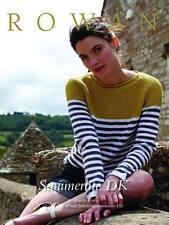 ROWAN SUMMERLITE DK KNITTING PATTERN BOOK - Martin Storey