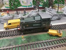 C213 HORNBY MODEL RAILWAYS OO GAUGE R2188 DIESEL SHUNTER LOCOMOTIVE D2412 BOXED