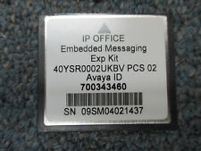 Avaya IP Office 500 406 V2 700343460 Embedded Messaging Expansion Kit PCS02