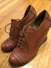 Vince Camuto Boots Leather Shoes Size 7 Brand New Bnwot $299 Penny5 5% Off