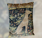 Allan Waller Ltd. French Midevil Tapestry Pillow Lady and the Unicorn Panel #5