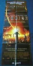 """The Chronicles of Riddick *French Movie Poster Original 23""""63"""" *2004 Vin Diesel"""