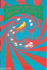 Dead Tuna Airplane Night Janis Joplin Died Concert Handbill Winterland 1970 Sf