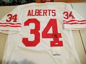 Nebraska Trev Alberts Autographed Signed White Jersey BAS Witnessed Cornhuskers
