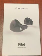 New listing Waverly Labs Pilot Real-Time Language Ear Translator Translating Earpiece used!