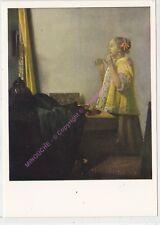 CP ART TABLEAU JAN VERMEER VAN DELFT Junge Dame mit Perlenhaslsband