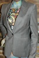 Ted Baker London Pointed Lapel Working Surgeon Wrist 1- Button Blazer Jacket 2