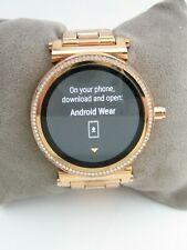 Reloj inteligente Sofie Michael Kors acceso MKT5022 Oro Acero Inoxidable Cristales