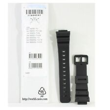 Casio G-Shock Matte Black Genuine Replacement Strap 71604262 to suit DW-6900-1V