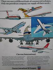 7/1971 PUB CHEVRON OIL QANTAS PAN AM ATLANTIS SWISSAIR UNITED CONTINENTAL AD