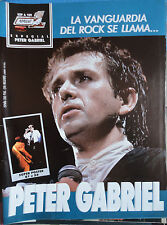 POPULAR 1  ESPECIAL N.109 - PETER GABRIEL   !!!!!!!(SPANISH MAGAZINE)