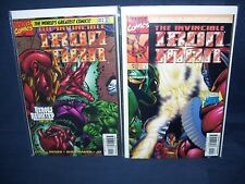 The Invincible Iron Man #10 and #12 Vol #2  Marvel Comics NM with Bag and Board