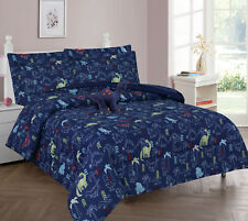 DINO Jurassic Jams COMFORTER BED SHEET SET WINDOW PANEL VALANCE FOR KIDS TEENS