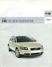 Volvo S40 UK Market Brochure 2002/3