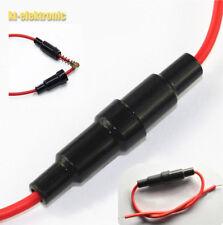 Sicherungshalter klein mit Kabel für 5 x 20 mm Sicherungen 24cm Gesamtlänge